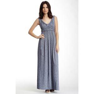 NWT Max Studio Indigo Maxi Dress S
